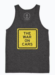 The War on Cars tank top
